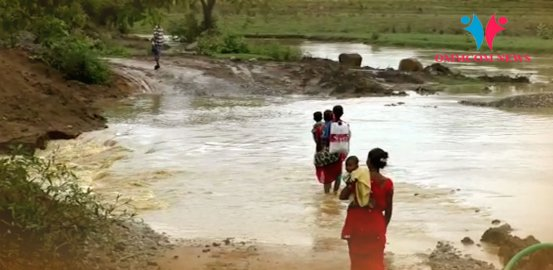 Incessant Rains Cut-Off Two Villages In Odisha's Malkangiri