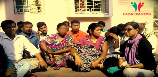 Kunduli Rape Victim's Mother Sits On Dharna In SCB, Wants To Take Back Her Daughter Home