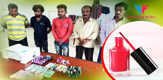How Racketeers Are Using Nail Polish To Make Fake Currency Notes In Odisha