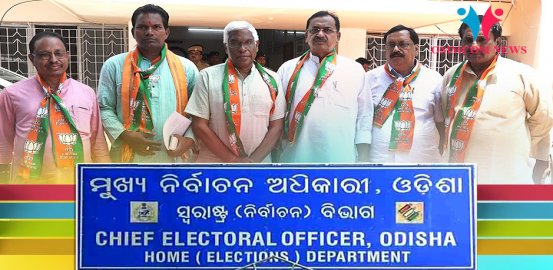 Odisha: BJP's Cuttack MP Candidate Prakash Mishra Demands Re-Polling In 9 Booths Of Athagarh