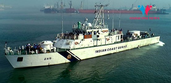 Public Catch Glimpse Of Naval Operations By Indian Coast Guard In Odisha's Paradip