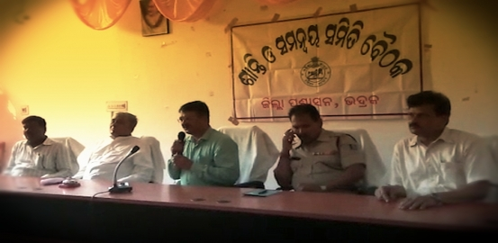 Peace Committee Meeting In Bhadrak Fails, Tension Prevails