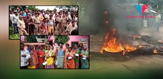 Odisha: Mob Sets Police Vehicle On Fire In Cuttack, 7 Injured In Group Clash