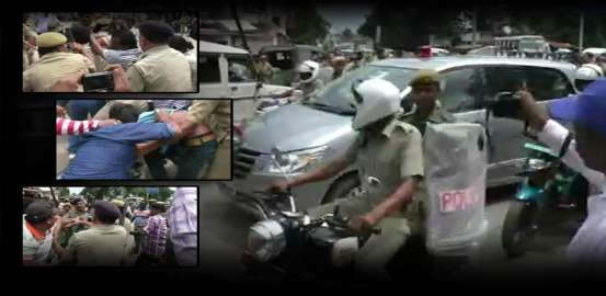 BJP Workers Hurl Eggs at Agriculture Minister