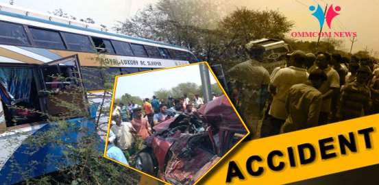 Odisha: 1 Killed, 16 Injured In Car-Bus Collision In Jajpur