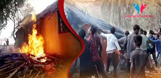 House Torched Amid Group Clash Over Government Land Encroachment In Odisha's Bhadrak