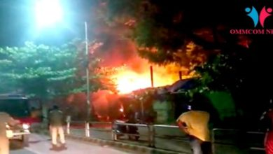 Photo of Fire Near AG Square In Bhubaneswar