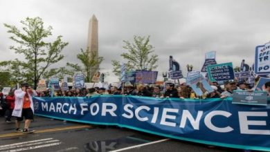 Photo of Thousands Of Scientists Protest Against Trump Slashing Research Budgets
