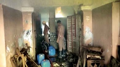 Photo of Fire Breaks Out In Newspaper Printing Press In Cuttack