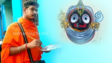 Photo of Odisha: Young Artists Paint Lord Jagannath In Cuttack Homes