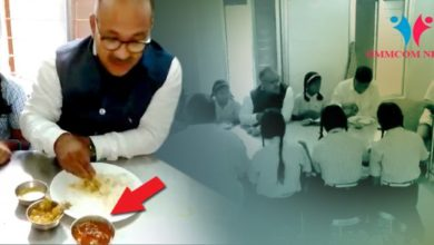 Photo of Odisha Minister Served Chicken During School Visit In Rayagada