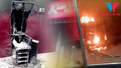 Photo of ATM Torched After Failed Loot Bid In Sambalpur
