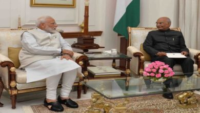 Photo of PM Meets President, Tenders Resignation Of Council Of Ministers