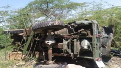 Photo of 3 IAF Personnel Killed As Truck Falls Into Gorge In Barmer