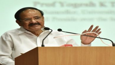 Photo of No Imposition Or Opposition To Any Language: Venkaiah Naidu