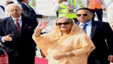Photo of Bangladesh PM Hasina In India, Several Deals To Be Inked