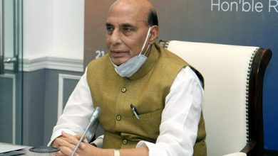 Photo of Defence Minister Rajnath Hints At China-Pak Collusive Threat