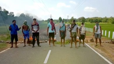 Photo of Youth Found Brutally Killed, Irate Locals Block Road Demanding Arrest