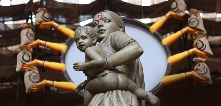 Maa Durga As A Migrant Woman