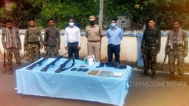 Photo of Ammunition Dump Of Maoists Unearthed In Malkangiri District