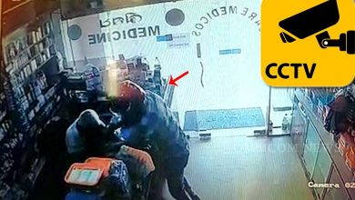 Photo of Watch: CCTV Captures Broad Daylight Loot In Bhubaneswar Medicine Store, Miscreant Poses As Customer