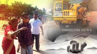 Photo of Concrete Mixer Truck Runs Over Puri Cyclist
