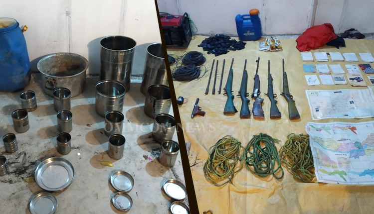 CRPF Busts Mao Camp In Nuapada, Seizes Arms & Ammunition