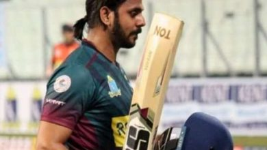 Photo of Tiwary's Half-Century Helps Bagan Beat Customs In Bengal T20 Challenge