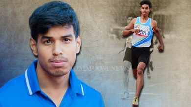 Photo of Reliance Foundation Odisha Athletics HPC's Sprinting Prodigy Amlan Stuns All