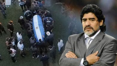 Photo of Watch Funeral Procession Of Football Legend Diego Maradona