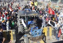 Photo of Another Batch Of Farmers March To Delhi Defying Tear Gas