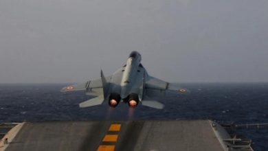 Photo of MiG-29K Crashes In Arabian Sea, Trainer Pilot Missing