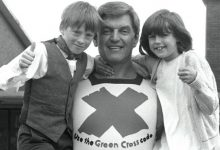 Photo of Darth Vader Actor David Prowse No More