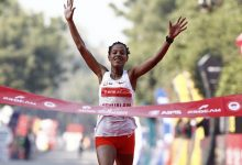 Photo of Delhi Half Marathon: Walelegn, Yehualaw Set Course Records