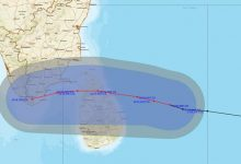 Photo of Cyclone Burevi To Cross Sri Lanka Coast By Evening
