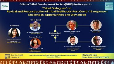 Photo of Webinar On Revival And Reconstruction Of Tribal Livelihoods Held