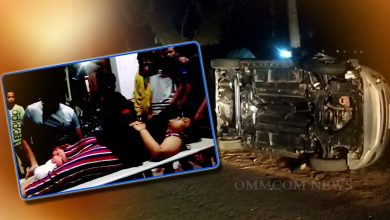Photo of Car Hits 10 In Series Of Mishaps On Puri-Satpada Road, 5 Critical