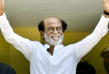 Photo of Rajini Vows 'Honest Govt' For TN; Party To Be Floated In Jan