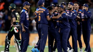 Photo of Concussion Sub Chahal's 3-Wicket Haul Helps India Win First T20I