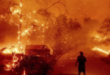 Photo of 25,000 Residents Flee Wildfire In Southern California
