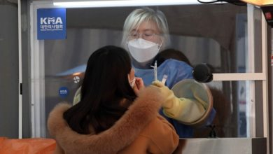Photo of S.Korea Confirms 1st Cases From Covid-19 Variant