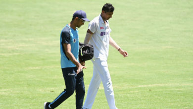 Photo of Saini Injures Groin, Currently Being Monitored By BCCI Medical Team