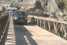 Photo of Bailey Bridge Built On Jammu-Srinagar Highway, Road Opened