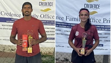 Photo of Local Favourites Dev And Soha Win AITA C'ship Titles