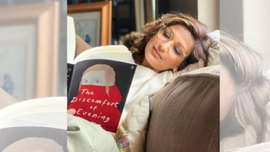 Photo of Sonali Bendre Starts The New Year Reading A New Book