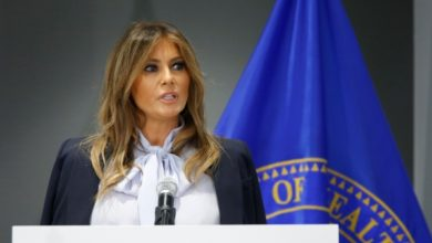 Photo of Melania Trump Asks To Choose 'Love Over Hatred' In Farewell Speech
