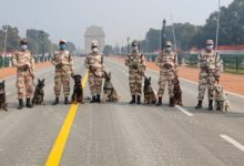 Photo of ITBP's 'Crack K-9s' On The Job To Secure R-Day