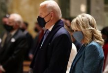 Photo of Bidens, Top Congress Leaders Attend Mass Ahead Of Inauguration
