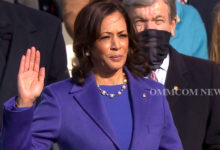 Photo of Kamala Devi Harris Sworn In As US Vice President