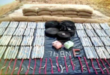 Photo of Huge Explosive Dump Of Maoists Seized By Security Forces In Malkangiri